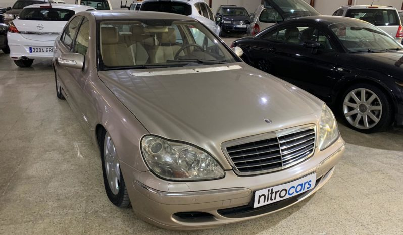 MERCEDES-BENZ – CLASE S 430 4MATIC completo